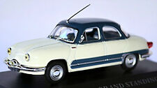 PANHARD DYNA Z16 GRAND STANDING Limousine 1958-59 BLANC + gris, échelle 1:43