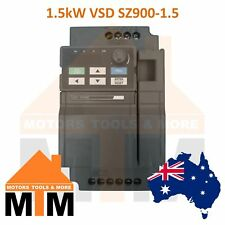 Single Phase 1.5kW 2HP VSD VFD Variable Speed Frequency Drive Inverter