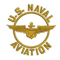 US NAVAL AVIATION EMBROIDERED POLO SHIRT NAVY ARMY PATRIOTIC VETERAN Embroidery