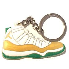 AIR JORDAN XI 11 RETRO RAY ALLEN PE BOSTON SNEAKERS SHOES KEY CHAIN RING HOLDER