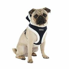 """Puppia Rudolph DOG Harness WITH HOOD, Large, NAVY Blue 18- 26"""" CHEST"""