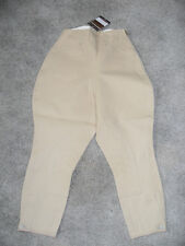 NEW GIRLS SIZE 6 /LADIES BEIGE BREECH / BREECHE BY EQUESTRIAN