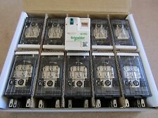 10x Schneider Electric RMX Series Non-Latching Relay, 24Vdc Coil 12a S1 8497590