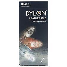 DYLON 2100310101 Leather & synthetic Materials Shoe Belt Jacket Dye Black 50ml