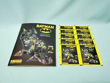 Panini 80 Jahre Batman Anniversary Sticker  Sammelalbum + 10 Tüten / 50 Sticker