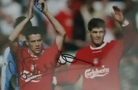 Michael Owen Signed 6x4 Photo Liverpool England Manchester United Autograph