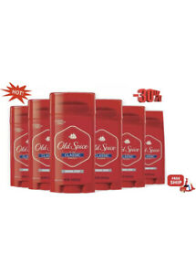 Old Spice Classic Deodorant Stick, Original 3.25 oz  6 pack