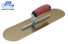 Nuevo Marshalltown Piscina Paleta Oro Acero Inoxidable 40.6cm X 11.4cm Sp16gsd