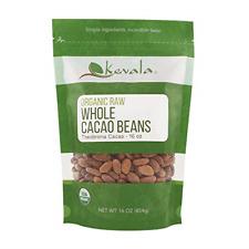 Kevala Organic Raw Cacao Beans 1Lb Herbal