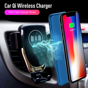 Cargador De Carro Rapido Inalambrico Para Samsung Galaxy S8 + Iphone X 8 Plus