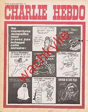 Charlie Hebdo n°153 du 22/10/1973 Guerre du Kippour