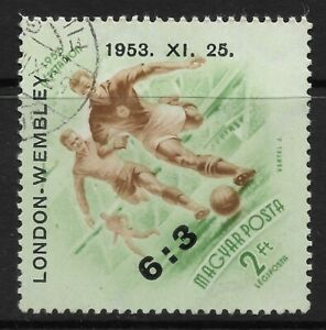 STAMPS-HUNGARY. 1953. Hungarian Victory at Wembley Commemorative. SG: 1333. FU