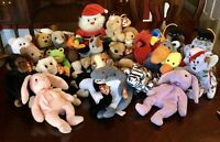 Lot Of 29 Ty Beanie Babies; With Tags!! Excellent Condition!!