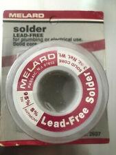 125 Lead Free Solder 3oz Roll Plumbing Auto Repair Electronicsetc Free Flux