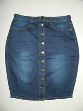 City Chic Women's Plus Denim Pencil Skirt NWT Size 14 XS MSRP $69 WP1409
