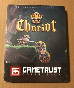 Chariot Collector's Edition Steelbook PC Gametrust Indiebox NEW SEALED