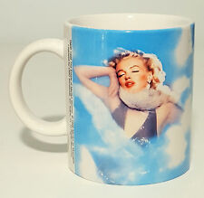 "MARILYN MONROE MUG CUP COFFEE FROM "" THE ESTATE OF MARILYN "" COLLECTION 1998"