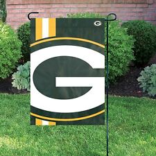 "NFL Bold Logo Garden Flag Green Bay Packers 12,5"" X 18"" Just the Flag, No Pole."