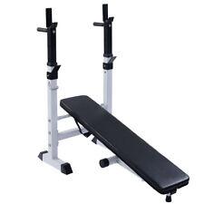 Banc de musculation multifonctions gym fitness réglable avec haltères ensemble