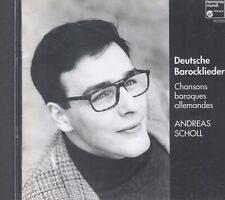 Andreas Scholl: German Baroque Songs CD