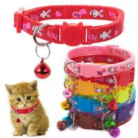 Supplies Puppy Cute Rabbit Dog Collar Cat Collars Bell Pendant Kitten Necklace