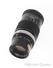 Minolta 135mm f4.5 Preset Lens with Circular Aperture