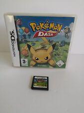 Pokémon Pokemon Dash Jeu Game Nintendo Ds Dsi 2DS 3DS XL Avec Boite EUR