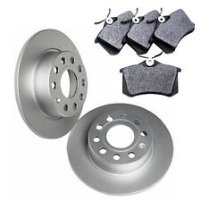 VW Golf Plus Plus Rear 1.2 1.4 1.6 1.9 2.0 Brake Pads Set and Discs 2005-2013