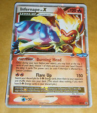 POKEMON PROMO CARD - LV X - DP10 INFERNAPE (HOLO) RARE