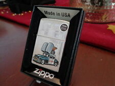 ZIPPO CAR IN FRONT OF ZIPPO BARBOUR ST. OFFICE ZIPPO LIGHTER MINT IN BOX 2013