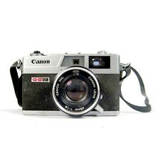 CANON Canonet 35mm QL19 GIII G3 45mm Lens f/1.9 1:19 Quickload Rangefinder