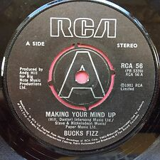 Bucks Fizz - Making Your Mind Up / Don't Stop - RCA 56 VG+ Condition