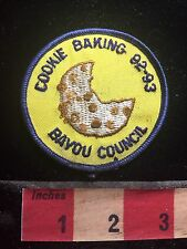 Girl Scout Chocolate Chip COOKIE BAKING - Bayou Council Patch 75YJ