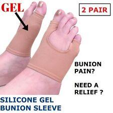 2 PAIR X Bunion Protector Toe Separator Straightener Alignment Pain Relief Pad