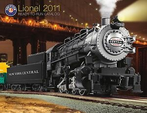 discontinued Lionel 2011 Signature Edition Catalog deal order pack
