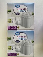 8 Pack Great Value Replacement Pitcher Filters Universal Brand New