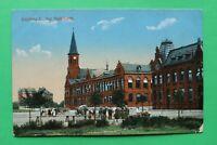 Brandenburg AK Oderberg 1920er der Maschmarkt Gebäude Architektur