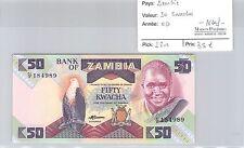 BILLET ZAMBIE - 50 KWACHA - NEUF !