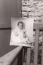 Photo of Baby Photo Unusual Snapshot Photo France 1950'