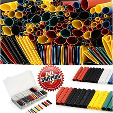 Heat Shrink Wire Wrap Assortment 532pcs,Ratio 2:1 Insulation Protection.6 color