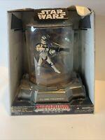 ❗Hasbro Star Wars Titanium Die Cast Clone Trooper Collectible Action Figure New