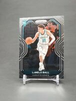 2020-21 Panini Prizm LaMelo Ball Base Rookie RC Charlotte Hornets #278 ROY