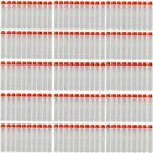 500pcs 7.2cm Glow Refill Bullet Soft Darts for Nerf N-strike Elite Series Gun