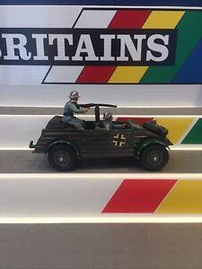 Britains Deetail🇬🇧German Kubelwagen Scout car Model 9783 WW2