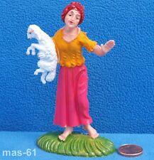 FONTANINI DEPOSE ITALY personaggio n. 18 sul tell personaggio 10 cm VINTAGE