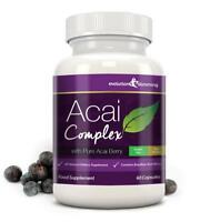 Acai Berry High Strength Weight Loss Diet 455mg 60 Capsules Evolution Slimming