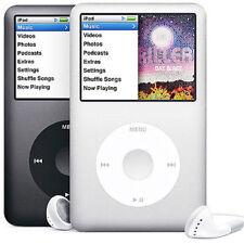 NEW--ipod classic 6th/7th Gen 80GB/120GB/160GB  Black/Silver  (Lastest Model)