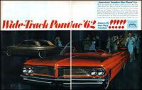 1962 Pontiac Bonneville Star Chief Catalina Car Bar-B-Q vintage art print ad L40