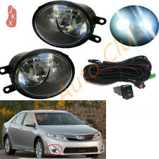LED Fog Lights Bumper Lamps Harness Kit Assembly k Fit For Toyota Camry 2007-13