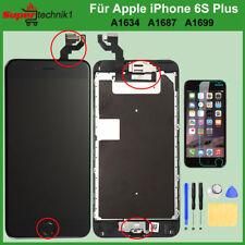 Display LCD für iPhone 6S+ Plus mit RETINA Scheibe VORMONTIERT Komplett SCHWARZ